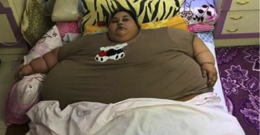 世界一太った女性