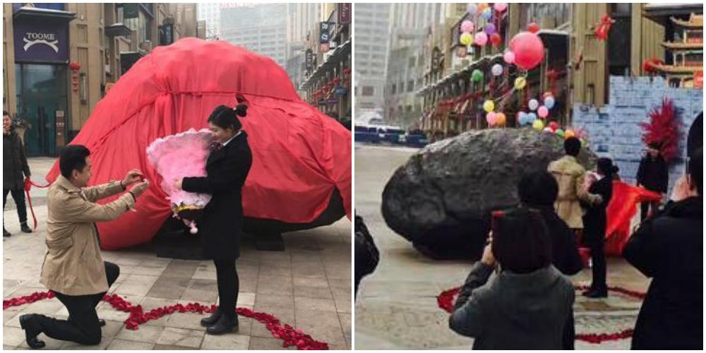 巨大隕石でプロポーズ大作戦