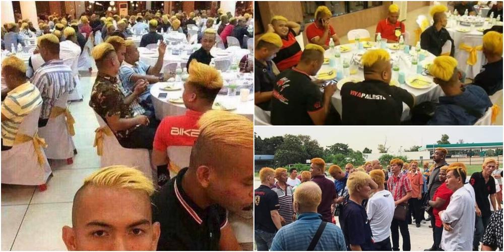 詐欺師主催の金髪食事会