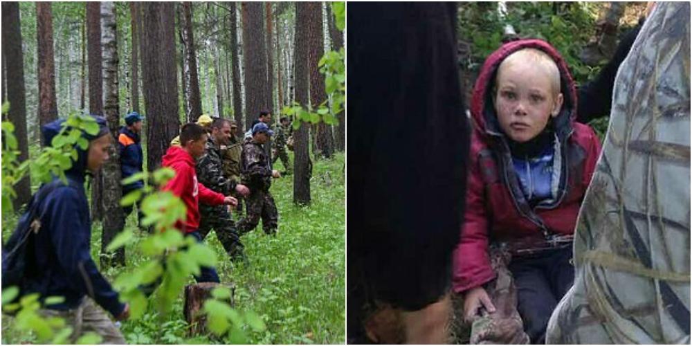 4歳児が猛獣の出る森で行方不明
