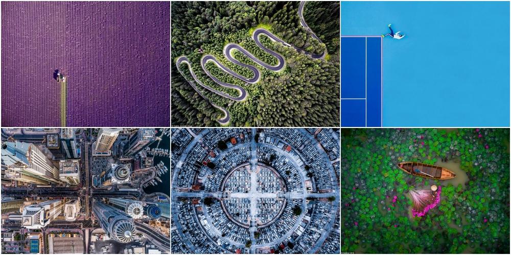 空撮写真を競うドローンスタグラム