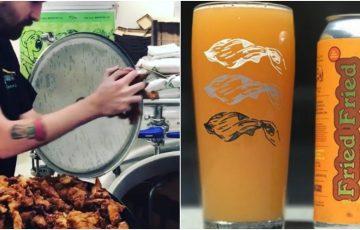 フライドチキンからビール誕生