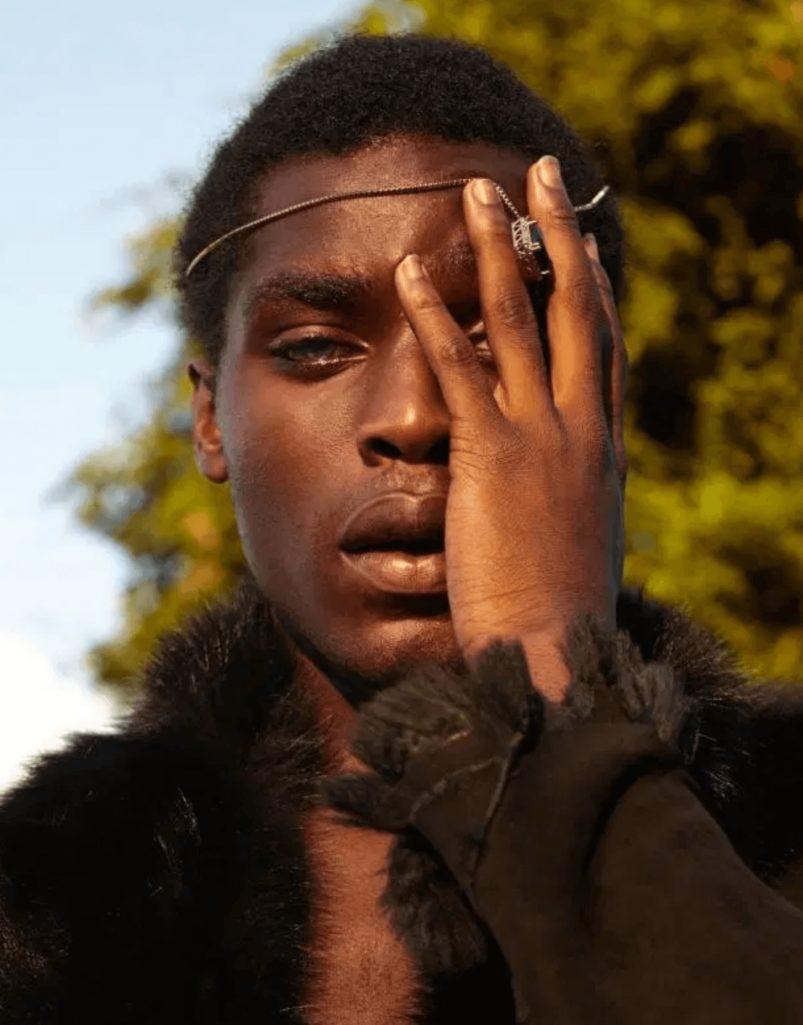 イケメン不良黒人がモデルデビューの成り上がり