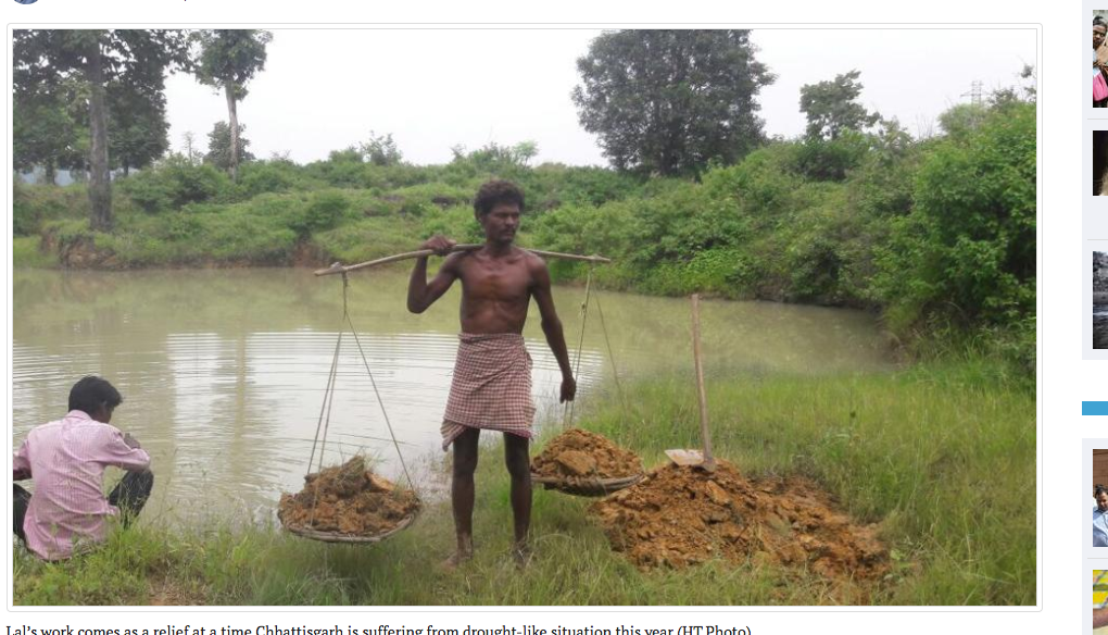 一人で村の水不足を解決した英雄