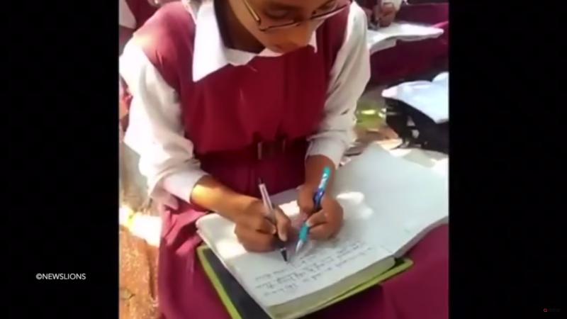 インドの両利き育成学校
