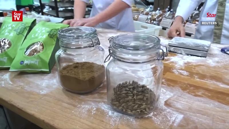 コオロギ70匹の虫パン誕生