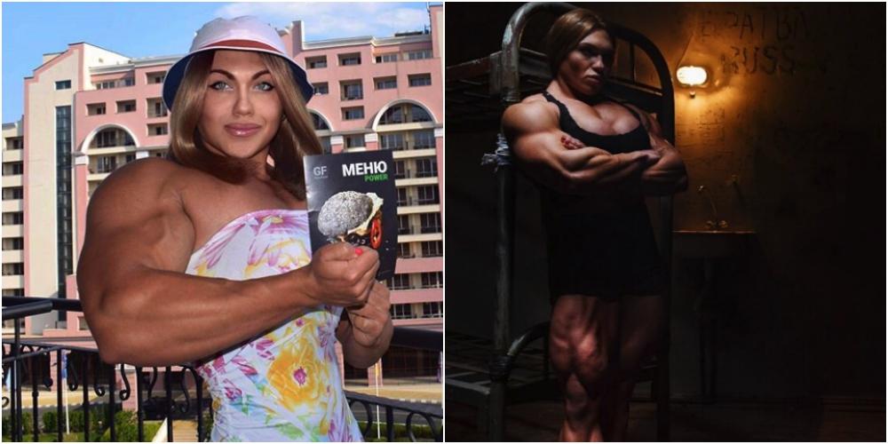 ガチムチ過ぎるロシアの筋肉女神