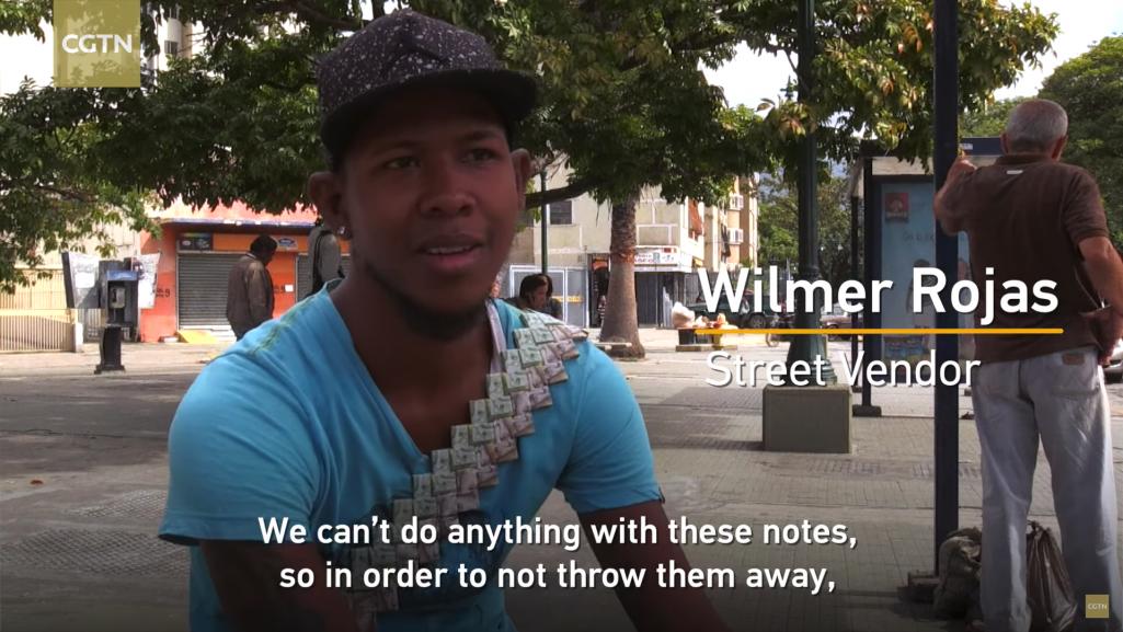 ベネズエラで本物の紙幣をリメイクするトレンド
