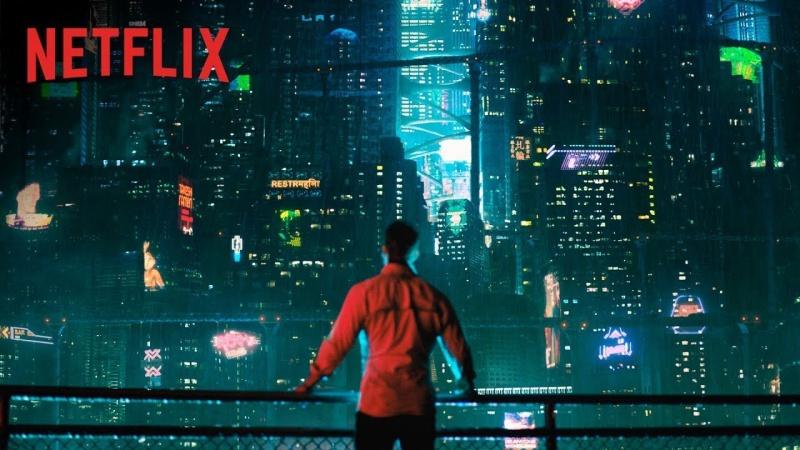 Netflixドラマオルタード・カーボン驚愕広告