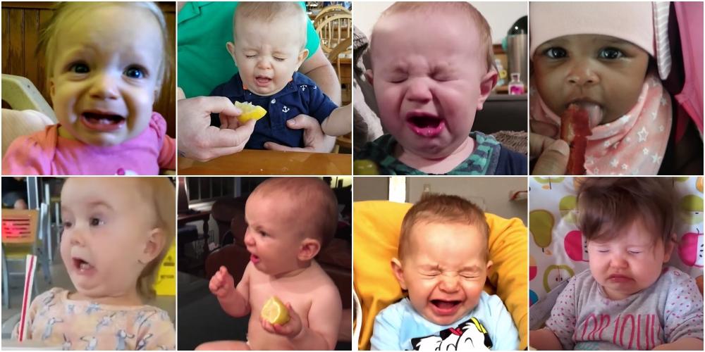 生まれて初めて食べた子供たちのリアクション