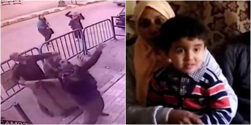 3階から落ちた子供を警察官ナイスキャッチ
