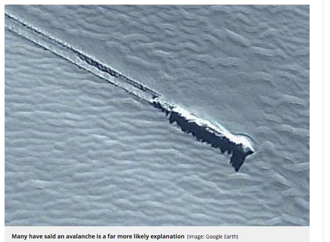グーグルアースにUFO着陸跡の謎