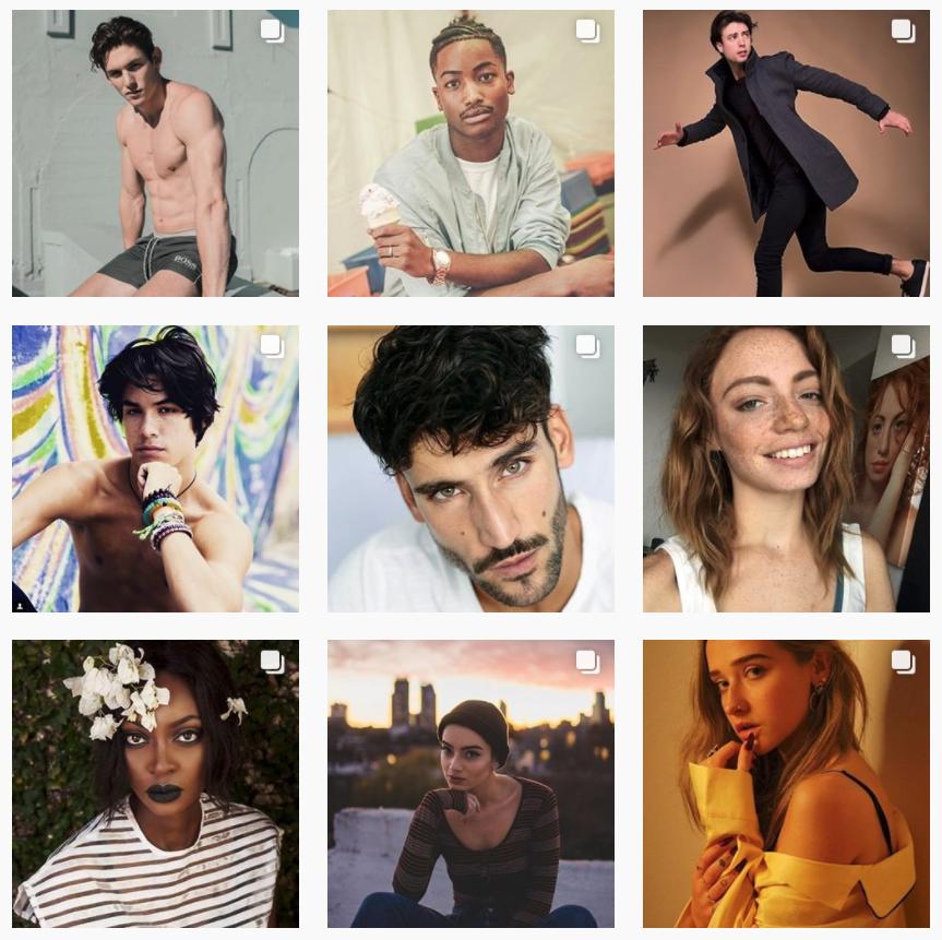 Instagramでスカウトされた未来のスーパーモデル