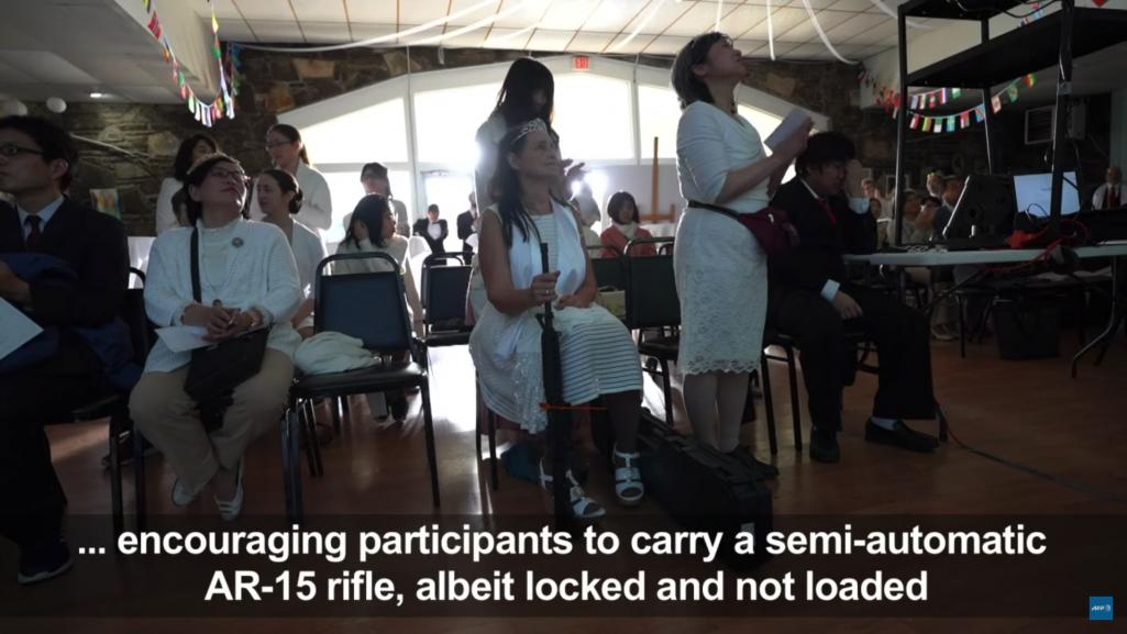 狂気の合同ライフル結婚式