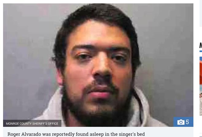 テイラー・スウィフトの自宅へ侵入したストーカー逮捕