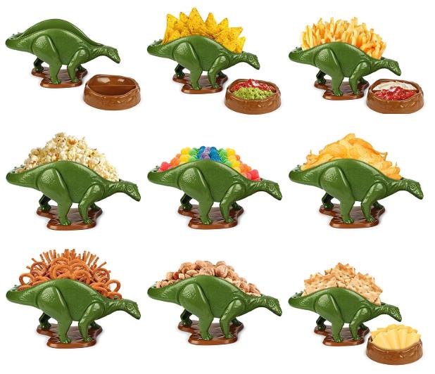 恐竜のスナック菓子ガジェット