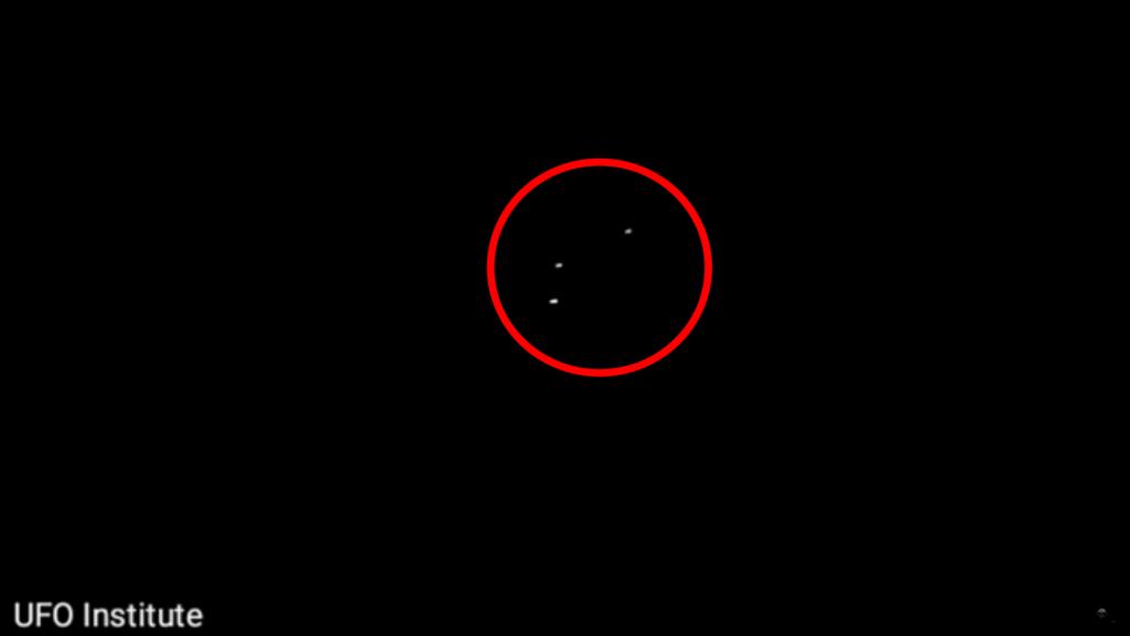 光のトライアングルはUFOなのか