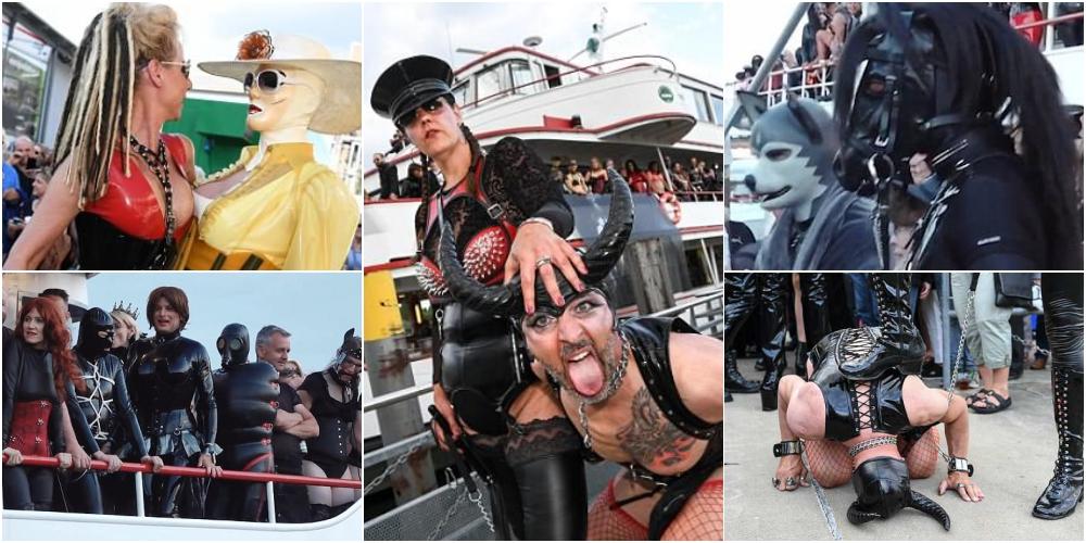 女王様と奴隷だらけのSM船上パーティー