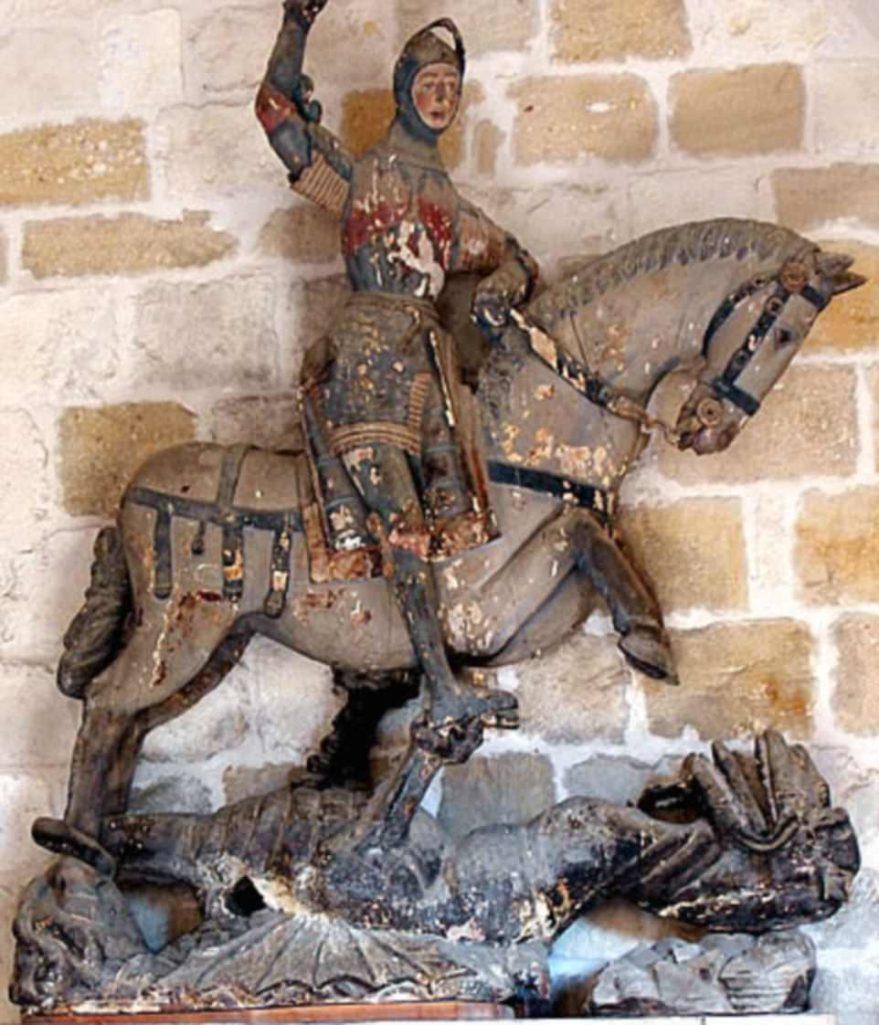 残念な聖ジェルジオ像
