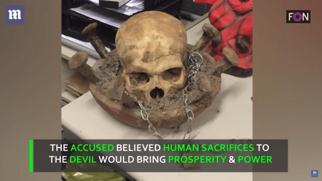 ブラジルの悪魔崇拝者連続殺人事件