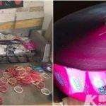 中国の偽造コンドーム工場摘発