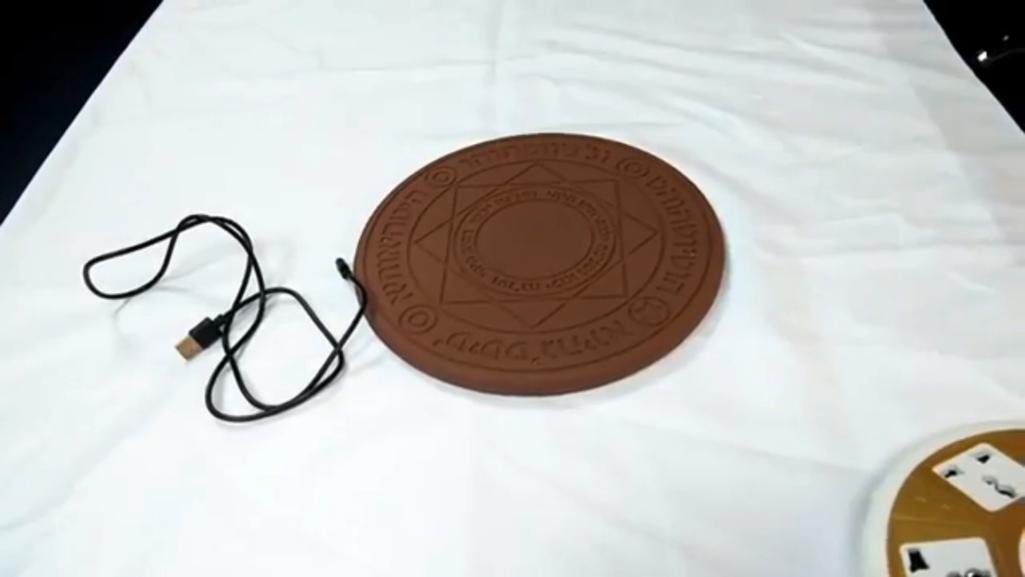 魔法の力でスマホをワイヤレス充電