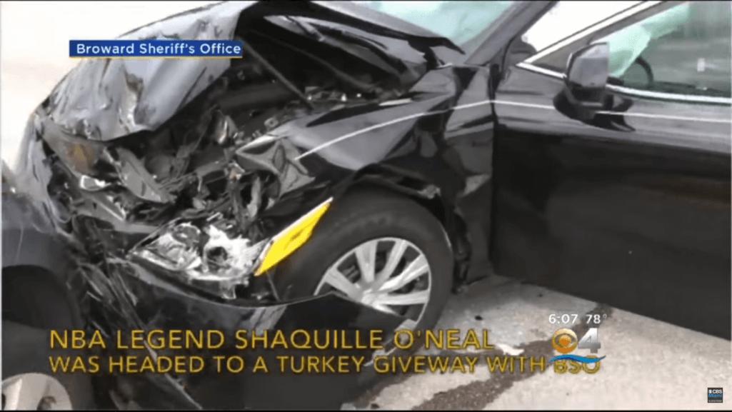 シャキール・オニールが事故現場で神対応