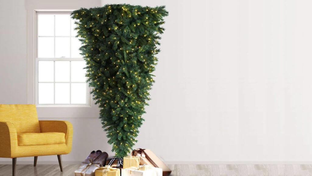 逆クリスマスツリーでアンチサンタクロース