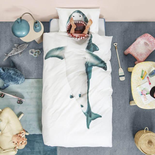 人食いザメ布団枕カバーセット