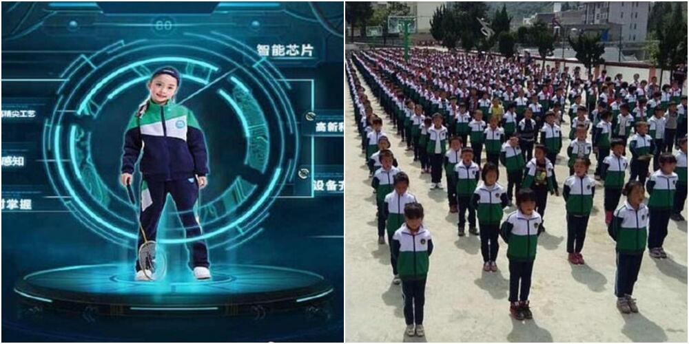 ICチップ付き制服で子供の行動を監視する中国