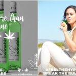 大麻成分を含む緑ワイン