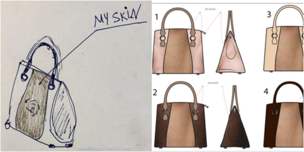 自分の皮膚からハンドバッグ作りたい女性