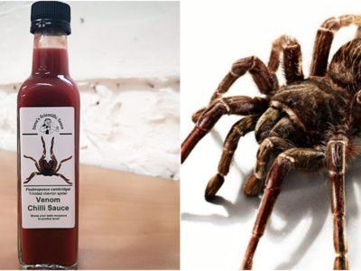 毒蜘蛛に噛まれた症状を再現した激辛ヴェノムチリソース