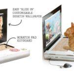 猫の爪とぎ専用ノートパソコン
