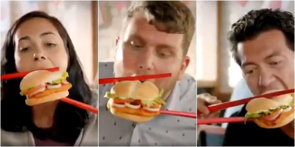 バーガー キング 広告