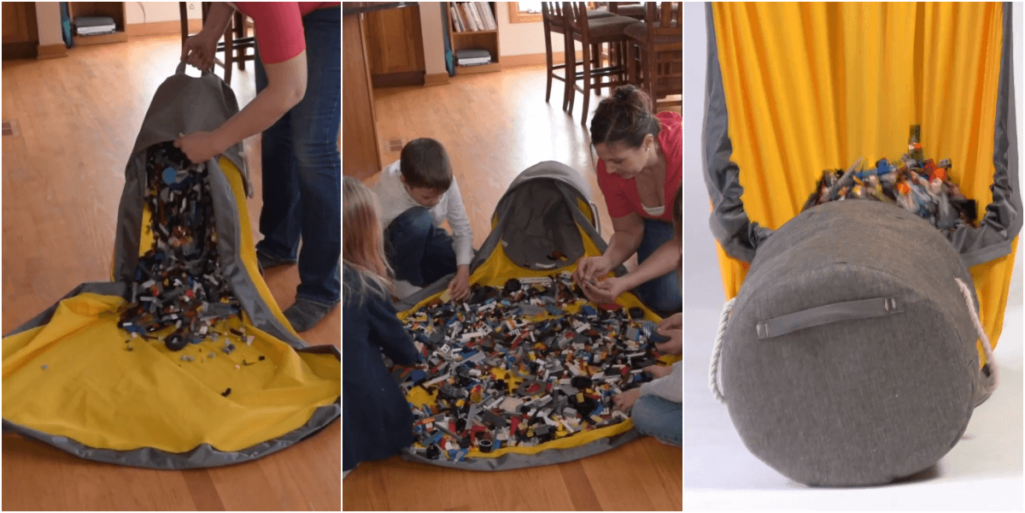 LEGOの後片付けを瞬殺するアイデア収納グッズ誕生