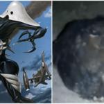 エヴァンゲリオンの使徒サキエル似の未確認生物