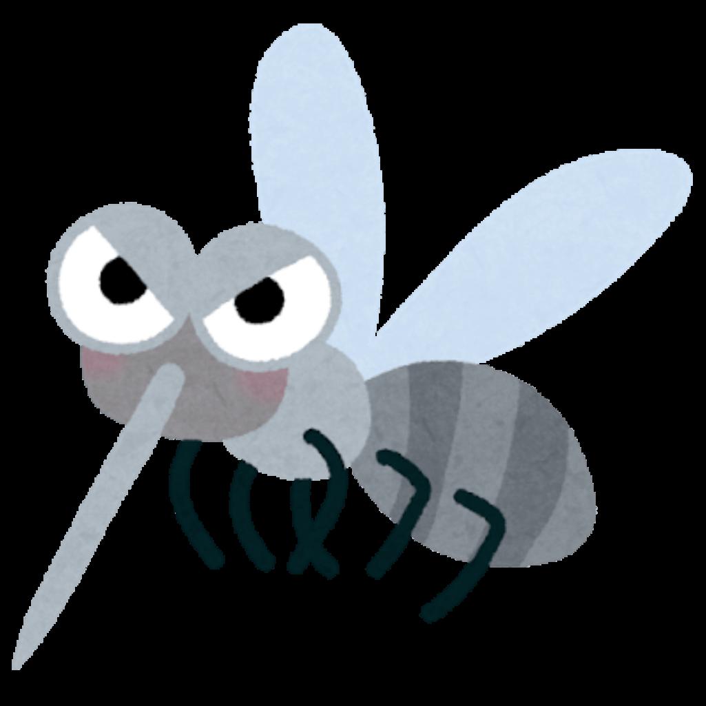 蚊をオナラで殺す男