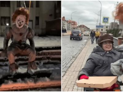 ウクライナのペニーワイズ騒動