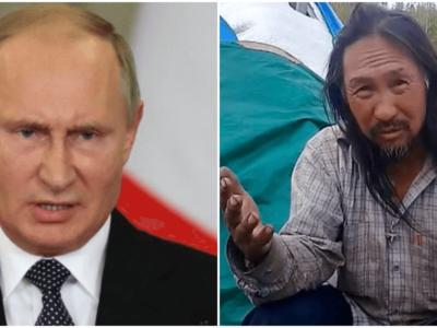 悪魔プーチンに立ち向かう自称霊能者逮捕