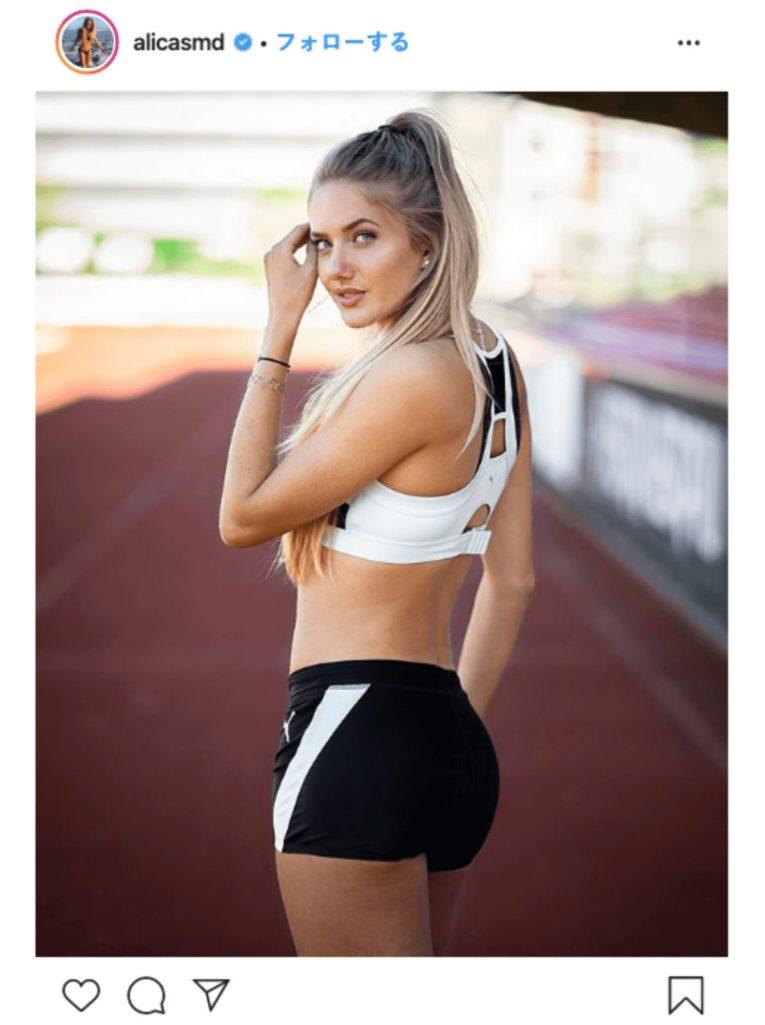 東京オリンピック注目の美人アスリート