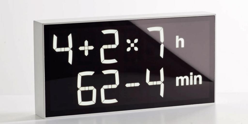 アインシュタイン育成時計は算数できないと時間がわからない