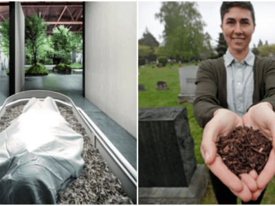 火葬より地球に優しい肥料葬