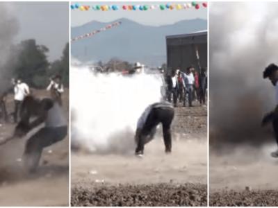 メキシコの奇祭「爆弾ハンマー祭り」