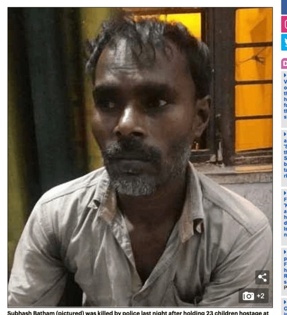 インドで最悪の立て籠もり事件が発生