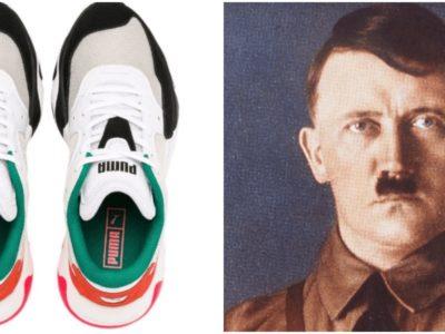 プーマのスニーカーがヒトラーに似てる問題