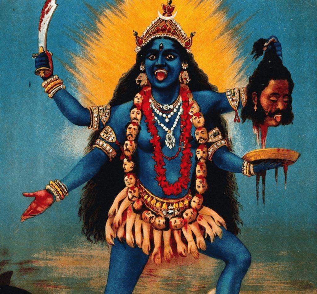 コロナウイルス収束を願って舌を切り落としたインド人