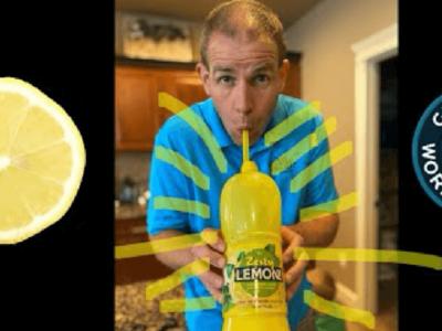 レモン汁早飲み世界記録でギネス認定