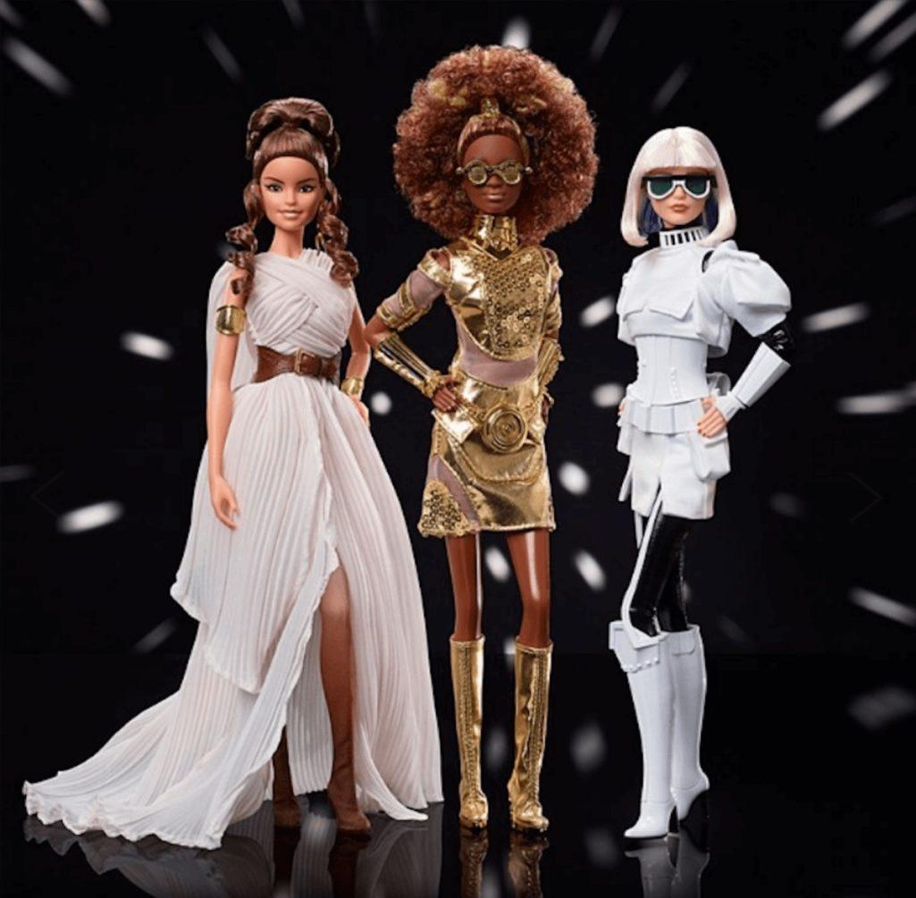 スター・ウォーズとバービーのコラボ人形