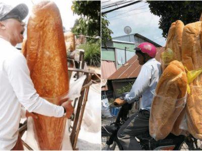 インスタ映え抜群カンボジアの巨大パン